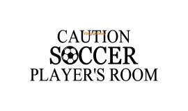 caution soccer player 20x8 angsana new copy