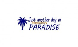 just another day paradise tree cccc